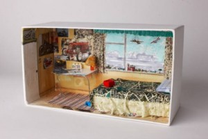 living in a shoebox