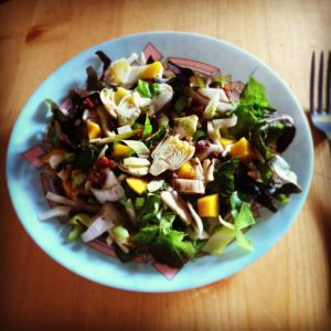 Ayurveda pitta balancing salad